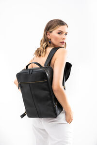 Leather Backpack 13