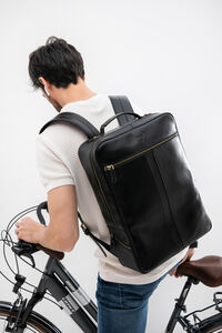 Leather Backpack 16