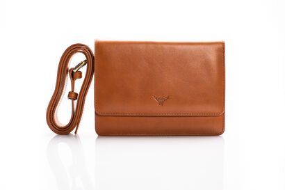Leather Belt Bag Coffee