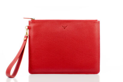 Leather Clutch Tango