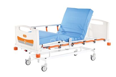 Two Motorized Hospital Bed