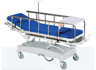 HYDRAULIC TRAUMA STRETCHER (X-RAY TRANSLUCENT PLATFORM)