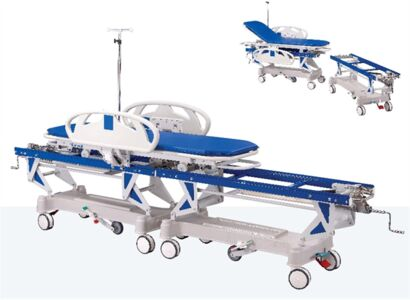 PATIENT TRANSFER STRETCHER (ABS COVERED)