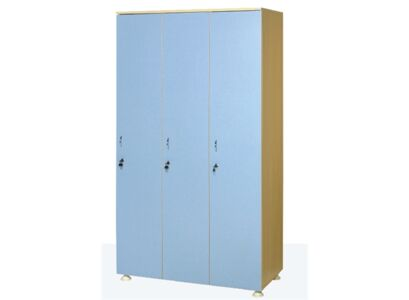 WOODEN WARDROBE (Three Persons)