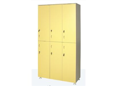 WOODEN WARDROBE (Six Persons)